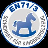 Gyermekjátékokra alkalmazható EN-71-3 szabvány szerint